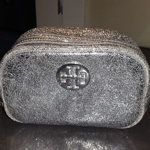 *NEW* Tory Burch sliver cosmetic bag